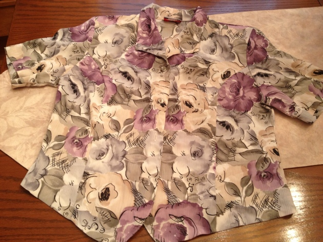 Love the lavender colours in this print.