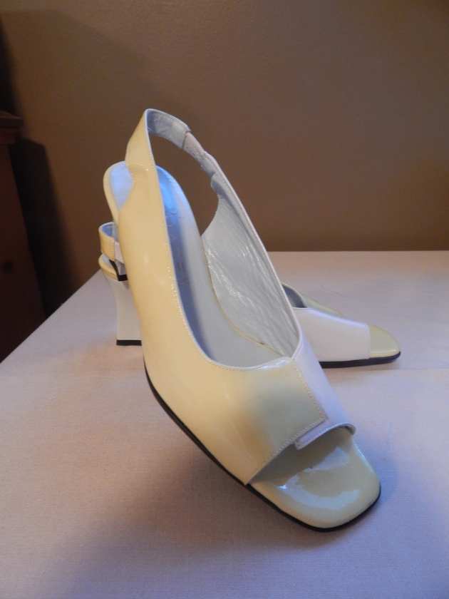 Sonate slingbacks made in France.