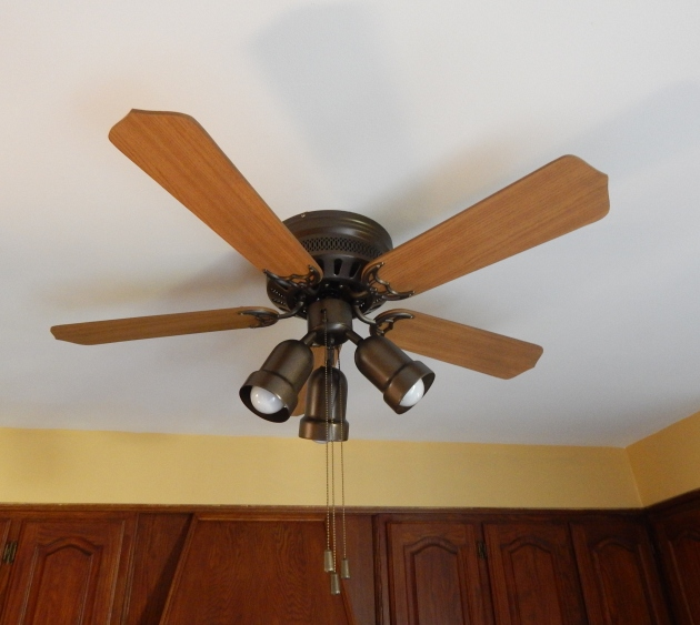 Updated old ceiling fan.