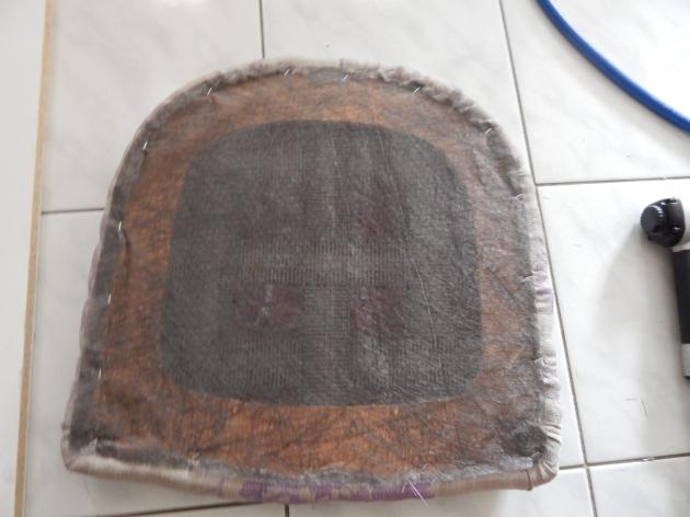 Staple dust cover back on.