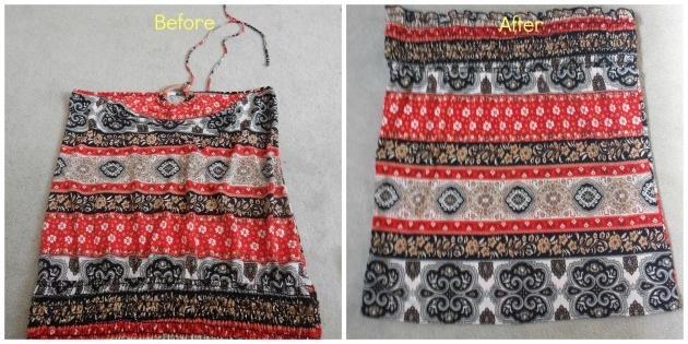 skirt refashion