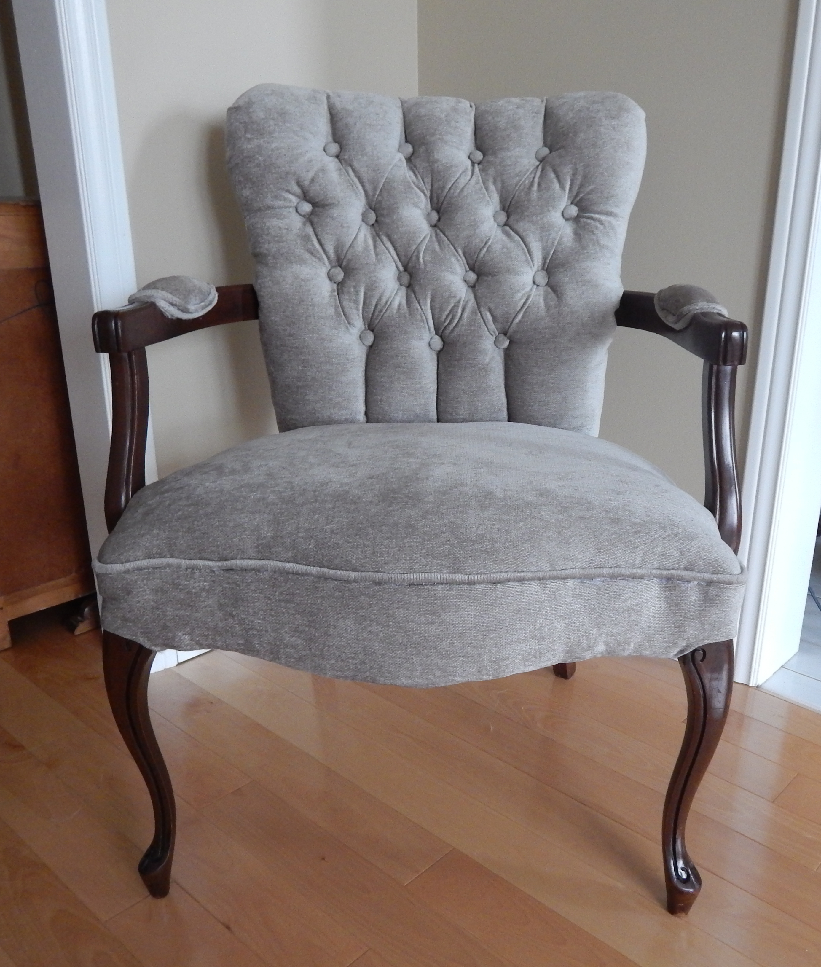 Queen Anne Style Chairs Redone