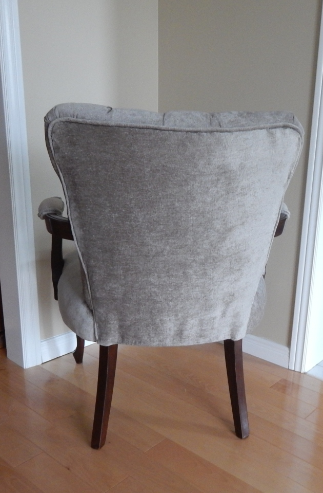 The back covering is handsewn just as it was originally.